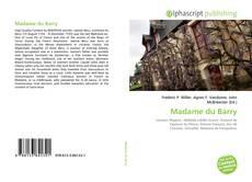 Bookcover of Madame du Barry