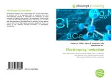 Bookcover of Electrospray Ionization