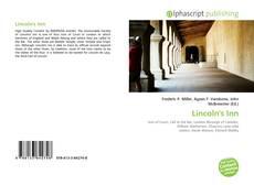 Copertina di Lincoln's Inn