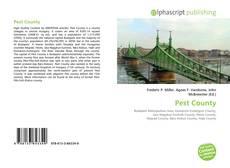 Buchcover von Pest County