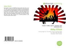 Bookcover of Abby Elliott