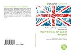 Borítókép a  Henry Bennet, 1st Earl of Arlington - hoz