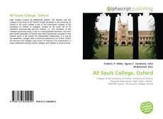 Обложка All Souls College, Oxford