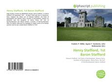 Bookcover of Henry Stafford, 1st Baron Stafford