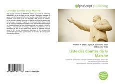Capa do livro de Liste des Comtes de la Marche