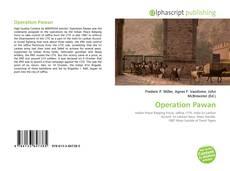 Capa do livro de Operation Pawan