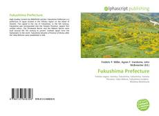 Fukushima Prefecture的封面