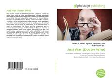 Bookcover of Just War (Doctor Who)