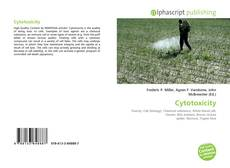 Bookcover of Cytotoxicity
