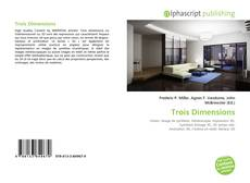 Bookcover of Trois Dimensions