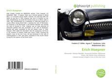 Buchcover von Erich Hoepner