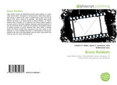 Bookcover of Brave Reideen