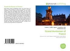 Обложка Grand Huntsman of France