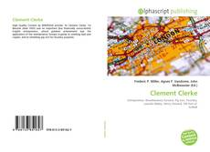 Bookcover of Clement Clerke