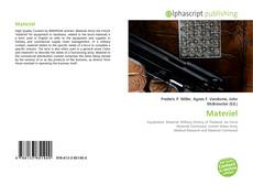 Bookcover of Materiel