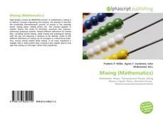 Copertina di Mixing (Mathematics)