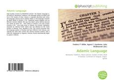 Обложка Adamic Language