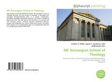 Обложка MF Norwegian School of Theology