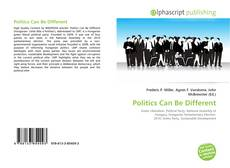 Bookcover of Politics Can Be Different