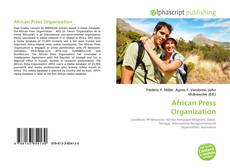 Buchcover von African Press Organization