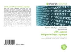Bookcover of GOAL Agent Programming Language