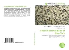 Couverture de Federal Reserve Bank of New York
