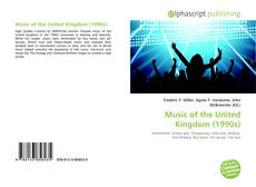Bookcover of Music of the United Kingdom (1990s)