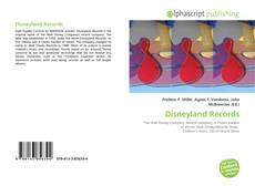 Portada del libro de Disneyland Records