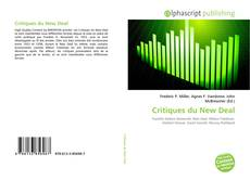 Bookcover of Critiques du New Deal