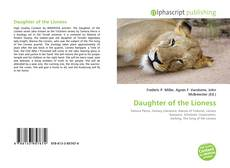 Bookcover of Daughter of the Lioness