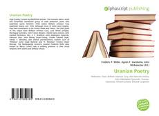 Bookcover of Uranian Poetry