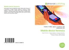 Bookcover of Mobile device forensics
