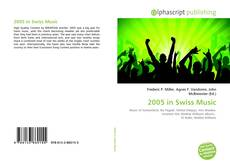 Обложка 2005 in Swiss Music