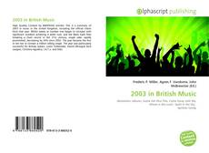 Обложка 2003 in British Music