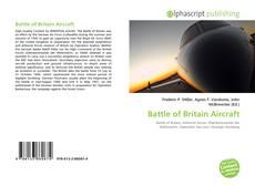 Buchcover von Battle of Britain Aircraft