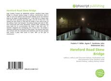 Обложка Hereford Road Skew Bridge