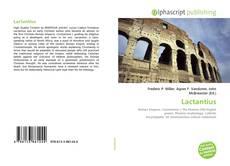 Bookcover of Lactantius