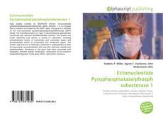 Обложка Ectonucleotide Pyrophosphatase/phosphodiesterase 1
