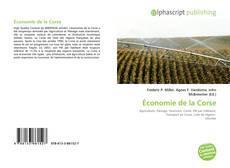 Bookcover of Économie de la Corse