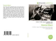 Donnie Elbert kitap kapağı
