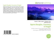 Обложка Agnes Douglas, Countess of Argyll