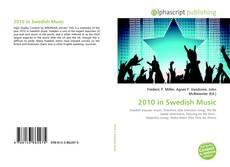 Capa do livro de 2010 in Swedish Music