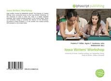 Borítókép a  Iowa Writers' Workshop - hoz