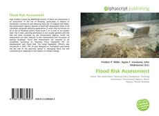 Flood Risk Assessment kitap kapağı