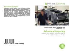 Capa do livro de Behavioral targeting