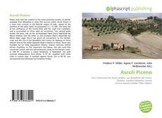 Portada del libro de Ascoli Piceno
