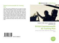 Capa do livro de British Commonwealth Air Training Plan