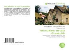 Copertina di John Maitland, 1st Duke of Lauderdale