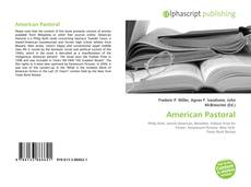 American Pastoral kitap kapağı