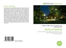 Bookcover of Duchy of Spoleto